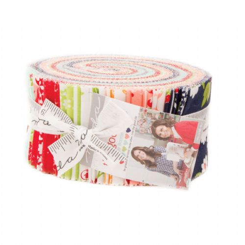 "Moda Jelly Roll - The Good Life (40, 2.5"" x 44"" strips of patchwork fabric)"
